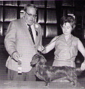 CH Han-Jo's Lollipop L, Judge John Cook and Handler Hannelore Heller