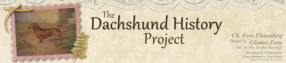 The Dachshund History Project
