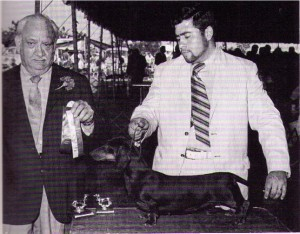 CH Pruitt's Raven, Judge Ernest Masson, Handler David Perry