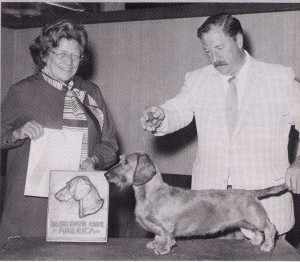 Judge Polly Fleming and Handler Bobby Fowler