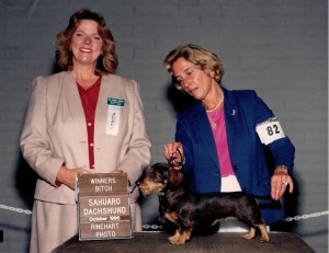 Judge Sherry Snyder and owner Dee Hutchinson